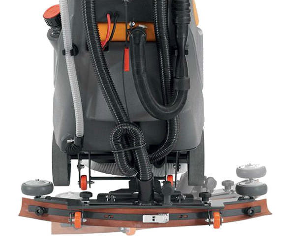 מכונת קרצוף מקצועית לרצפה - דגם BRIO-45