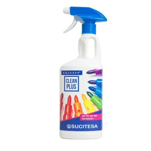 CLEAN PLUS - חומר ניקוי חזק שמסיר דיו