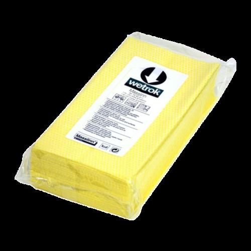 מטלית מסלין צהובה לניקוי שיש אבן פרקט ודק