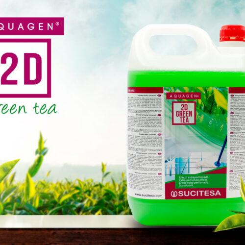 2d green tea חומר ניקוי לגרניט פורצלן
