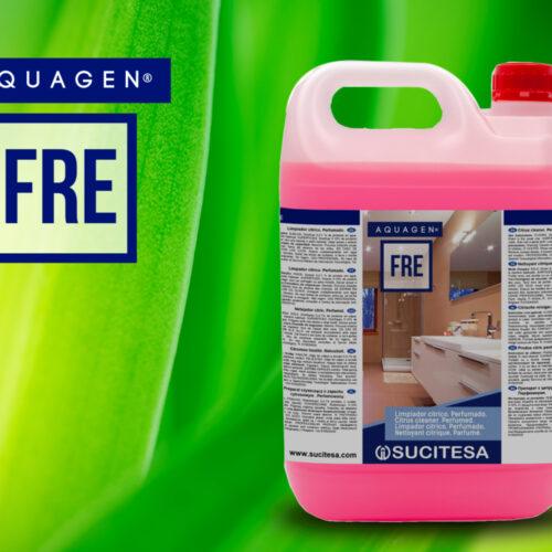 aquagen fre מסיר אבנית לניקוי חדרי אמבטיה