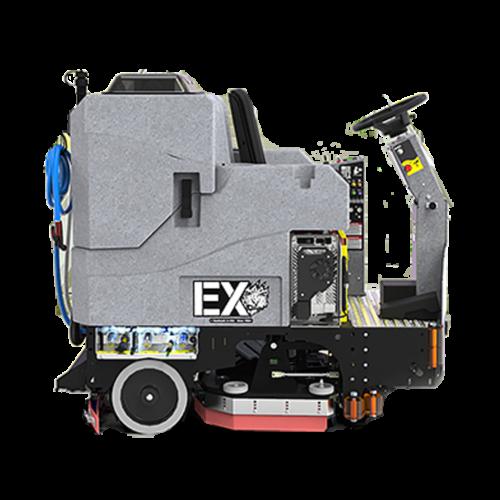 מכונת שטיפה רכובה מדגם EX V2.0 לשטחים גדולים - TOMCAT USA