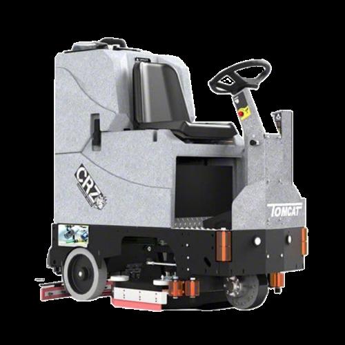 מכונת שטיפה רכובה לשטחים גדולים ולעבודה מאומצת מדגם CRZ